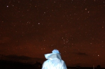 The Mysterious Blue Riders appearance coincided with that of the Aurora Borealis