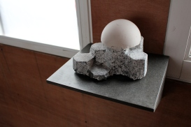 Jo Lathwood Igneous Station Andesite + Plaster 2017